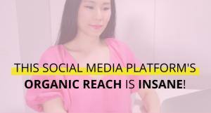 This Social Media Platform's Organic Reach Is Insane!